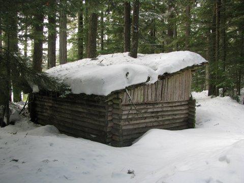 Larch Lake Shelter (1970\'s)