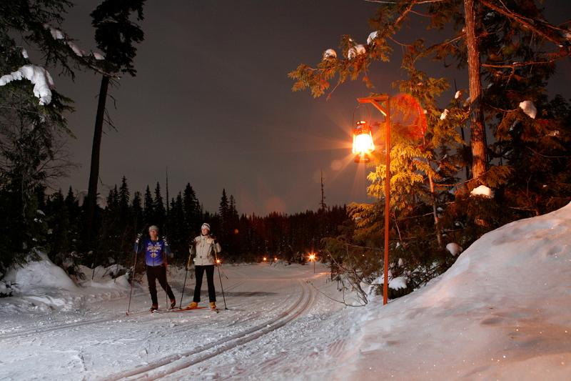 Larch Hills Lantern Ski