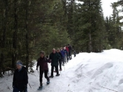 Snow Shoe tour