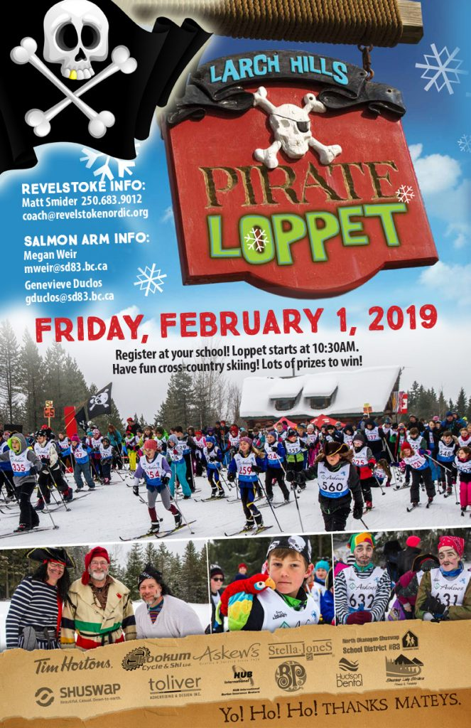 Pirate Loppet Poster