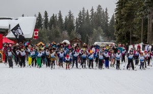 Pirate Loppet Start Line